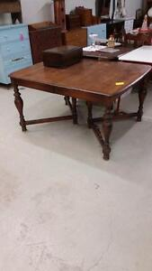 Vintage Solid Wood Dining Table for.Sale