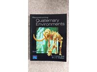 Reconstructing Quaternary Environments. 2nd Edition. J.J. Lowe and M.J.C. Walker