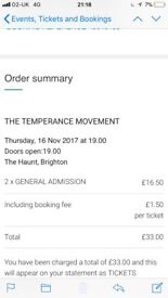 Temperance Movement - The Haunt, Brighton - 16 November