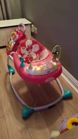 Girls baby walker