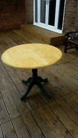 Farm house style pine dining table
