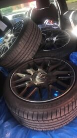 Mercedes Benz AMG 18 inch Rep Alloys With Tyres