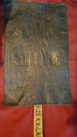 Superdry Brad Leather Jacket XXL