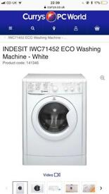 Indesit eco washing machine new graded comes with full manufacturing guarantee