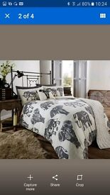 Elephant double bedding set