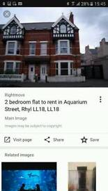 2 bedroom flat in Rhyl