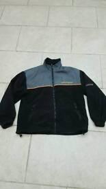 Team daiwa fishing fleece jacket size xl