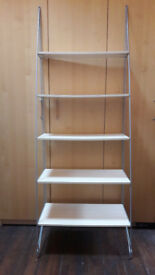 IKEA 5 Shelf Ladder type shelving