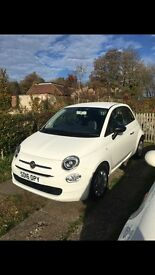 Fiat 500 white! 2016 immaculate condition. True bargain!