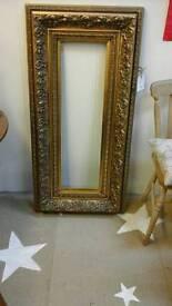 Ornate gilt frame