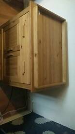 Baby changing cabinet