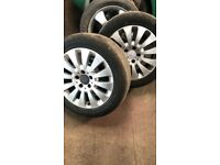 17inch alloy wheels Mercedes