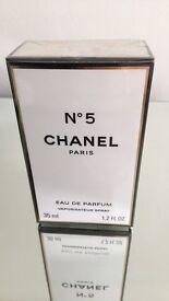 Chanel No.5 eau de parfum. still sealed