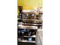 Cafe coffee machine and coffee grinder machine