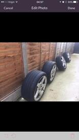 Mercedes 18 inch Alloy Wheels Genuine