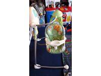 Fisher price rainforest baby swing