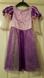 Rapunzel dress up costume