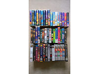 Variety of video cassettes - all ages. Please see photo for titles