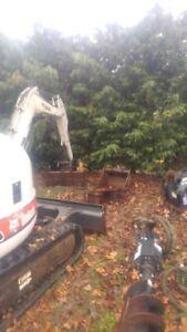 Bobcat Mini Excavator, Bobcat Skid steer &Volvo single axle