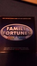 Family fortunes board game for all the family