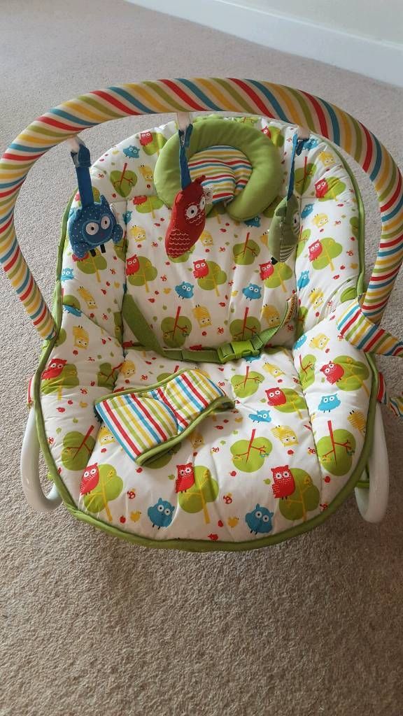 Mothercare owl 2 in 1 rocker and bouncer