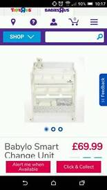 Babylo changing table with bath