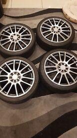 """** 17"""" Alloy wheels **"""
