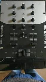 Numark dm950 two channel mixer