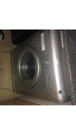 Beko washing machine silver