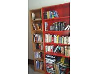 Large and small billy bookcases. Can be bought seperately or as a pair