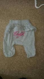 Baby girl Myleen Klass 3-6 month joggers