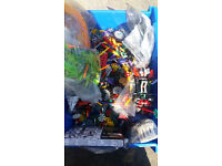 Large collection of lego knex