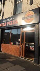Pizza shop takeaway for sale