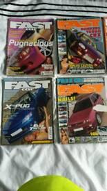Fast car magazines bundle1