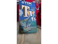 TDK Blank Video x 6