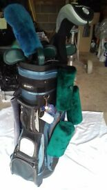 Large Golf Bag and Accessories
