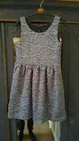 Beautiful silver grey Gapkids Dress