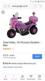 Chad valley 6v Princess stardom electric ride on