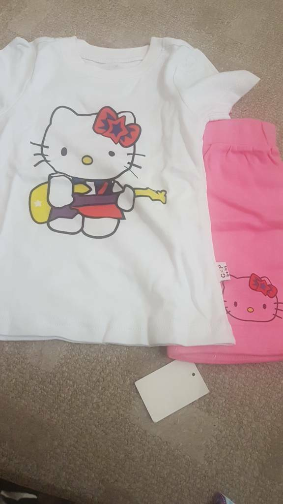 Brand new Hello Kitty pjs age 3