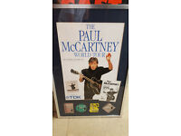 PAUL McCARTNEY WORLD TOUR 1990 AWARD £125 OFFERS