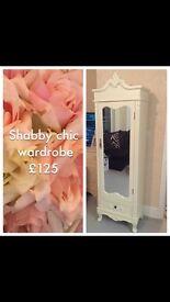 Shabby chic wardrobe