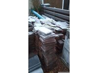 Job lot of tile marley modern and rosemary