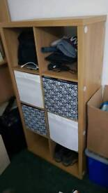 Multi purpose wooden unit