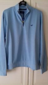 BRAND NEW GOLF SWEATSHIRT BY BLUE HARBOUR DESIGNED BY ERNIE ELS