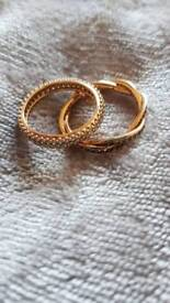 Rose gold Pandora Ring/Rings (offers considered)