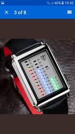 LED timeline watch