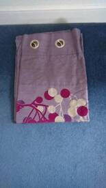 Next purple curtains