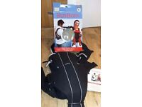 Baby Bjorn Active Baby Carrier/Sling, lumbar support, box & instructions, black