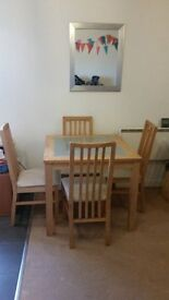 4 Seater Dining Table with Matching Chairs -50 pounds**Bargain Price Reduced*