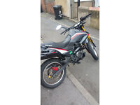 Keeway TX 125cc 63 plate Really good conditions..